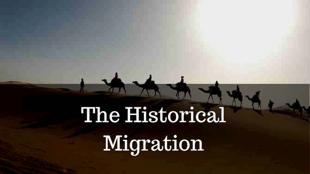 The Historical Migration