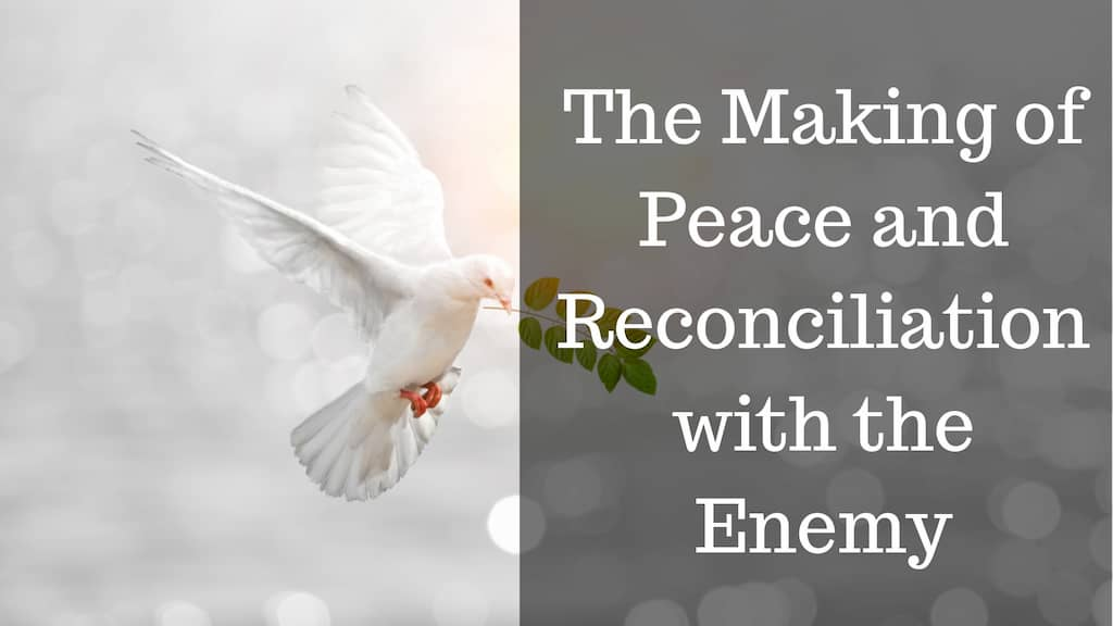 The Making of Peace and Reconciliation with the Enemy